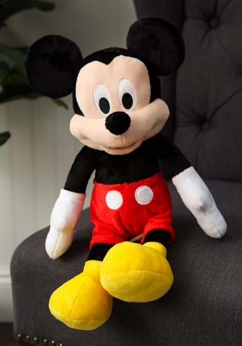 """Mickey Mouse 18"""" Stuffed Toy Update"""