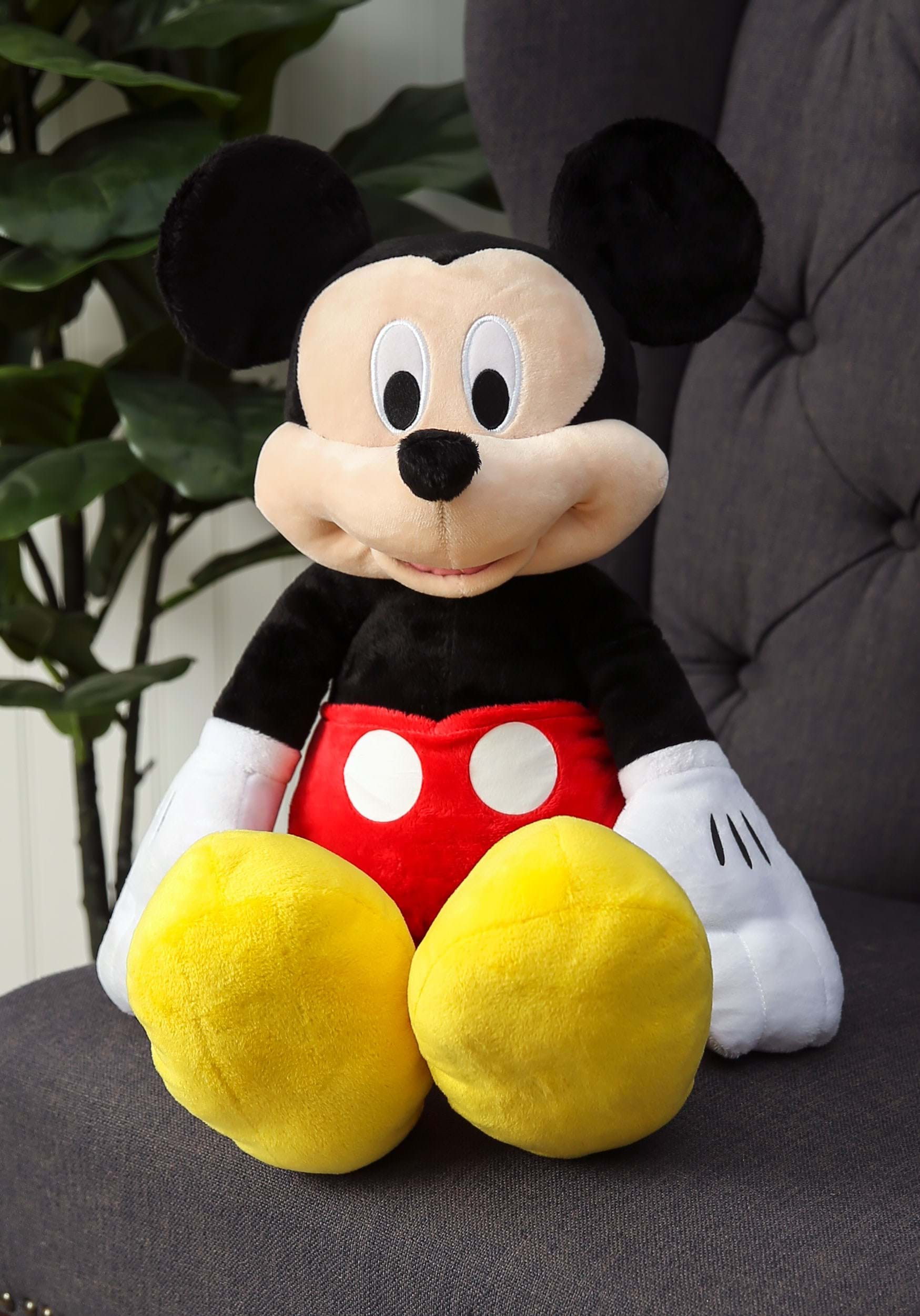 """Mickey Mouse 25"""" Stuffed Toy"""