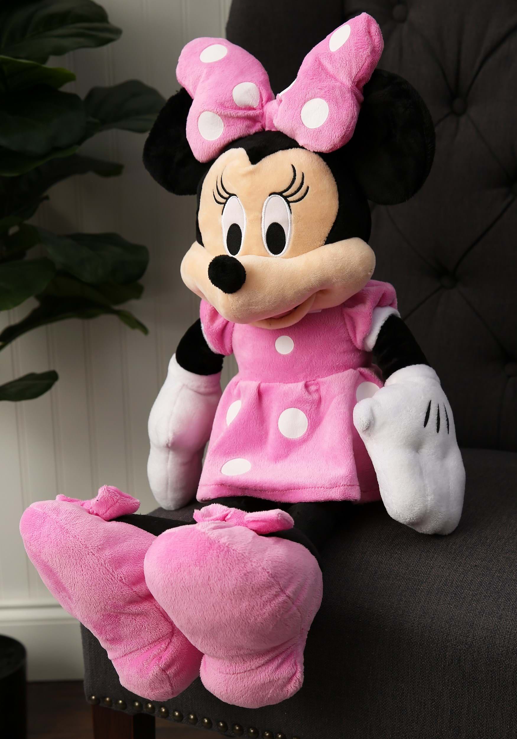 """25"""" Minnie Mouse Stuffed Toy"""