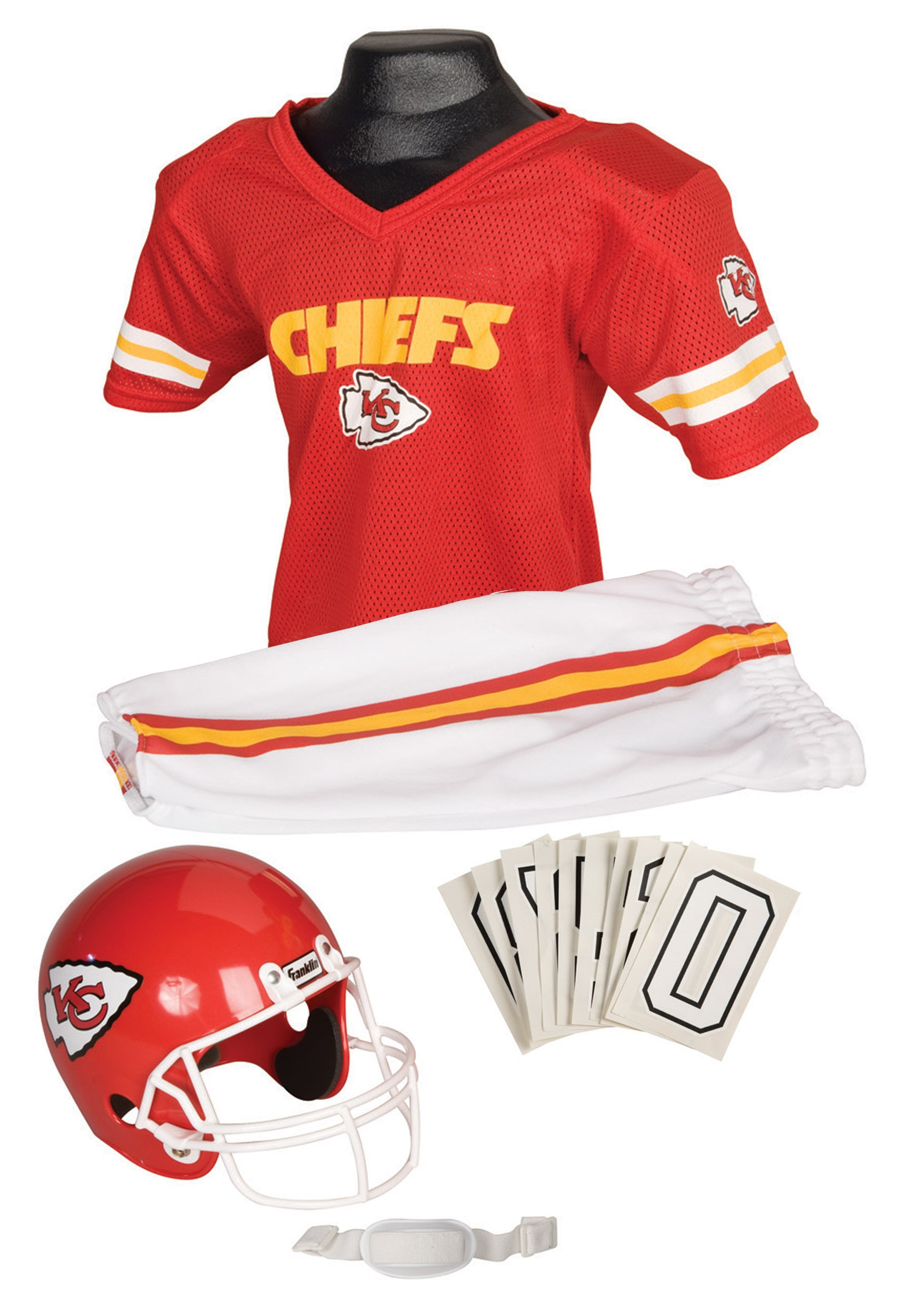 NFL Kansas City Chiefs Uniform Set FA15700F21