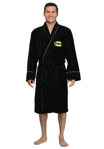 Batman Logo Bath Robe