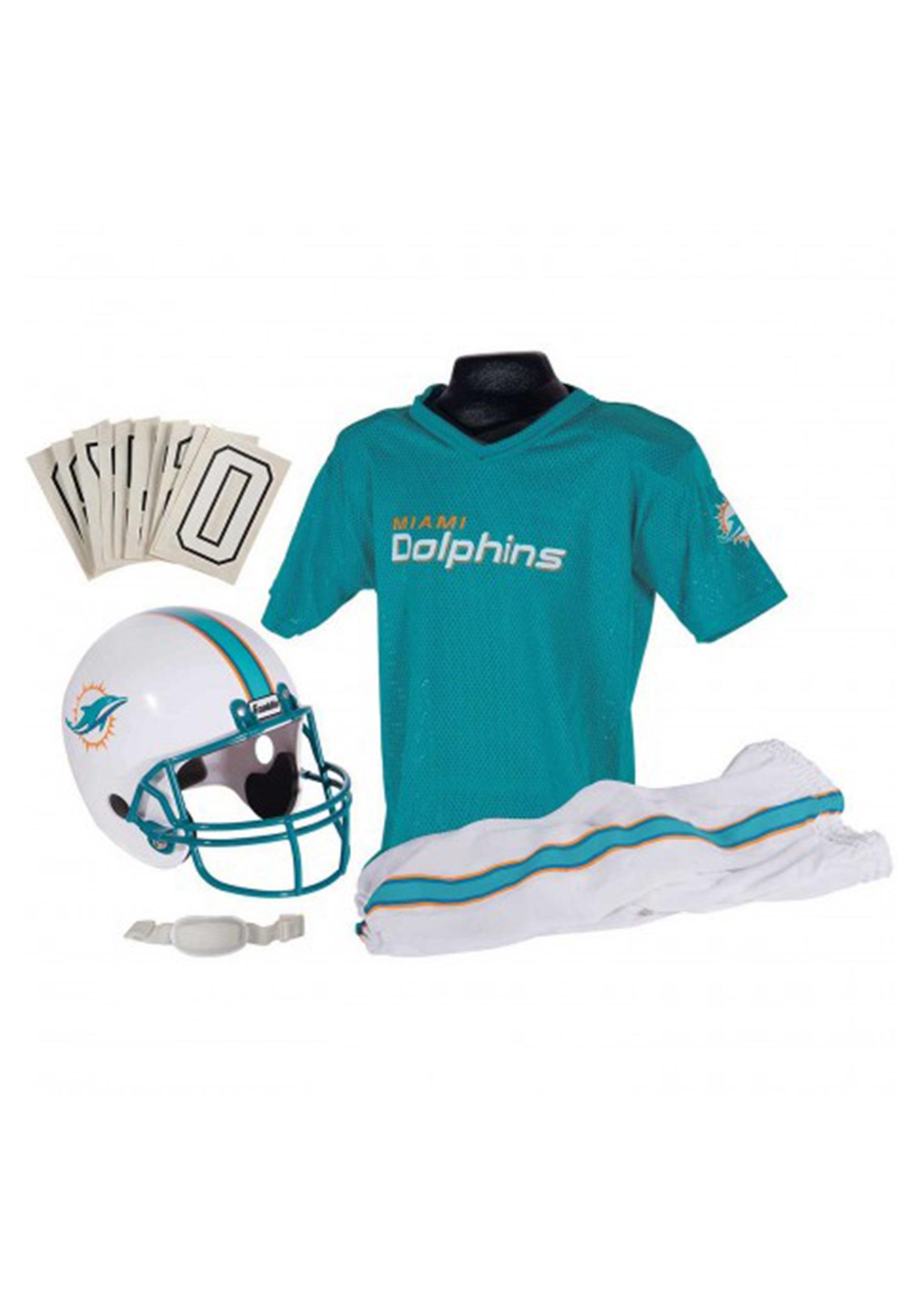 5f3f0ff6229 Kids NFL Miami Dolphins Uniform Set