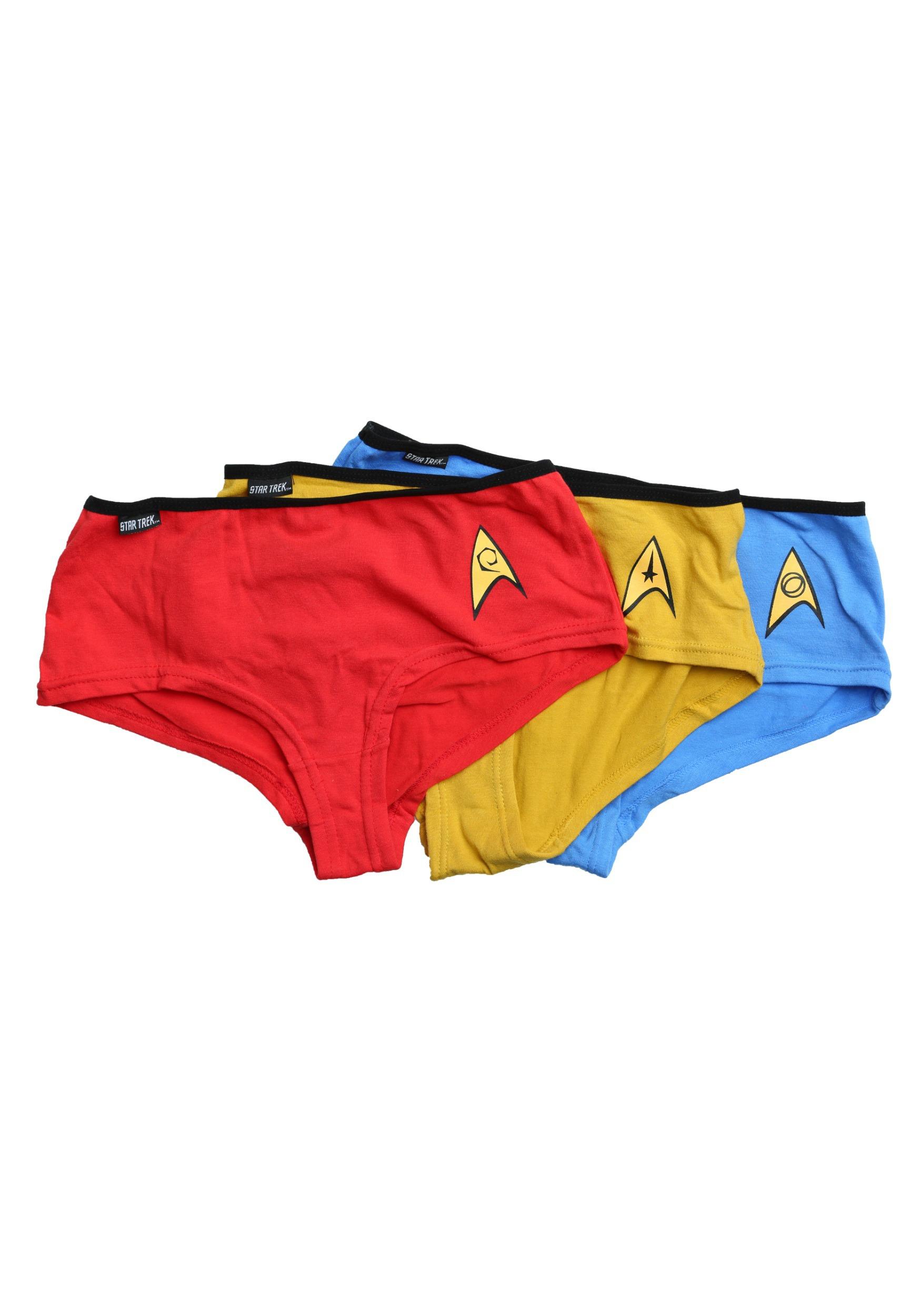 f7e3e71af9 Star Trek Women s Panties 3 Pack