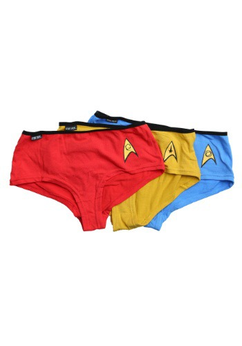 Star Trek Women's Panties 3 Pack