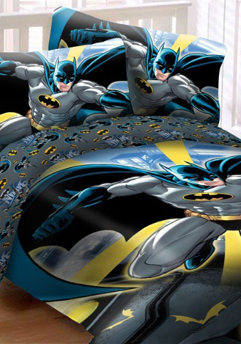 Batman in City 4pc Full Bed Set
