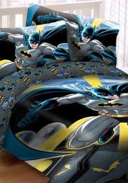 Batman in City 4pc Full Bed Set