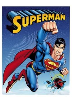 Superman Plush Twin Blanket