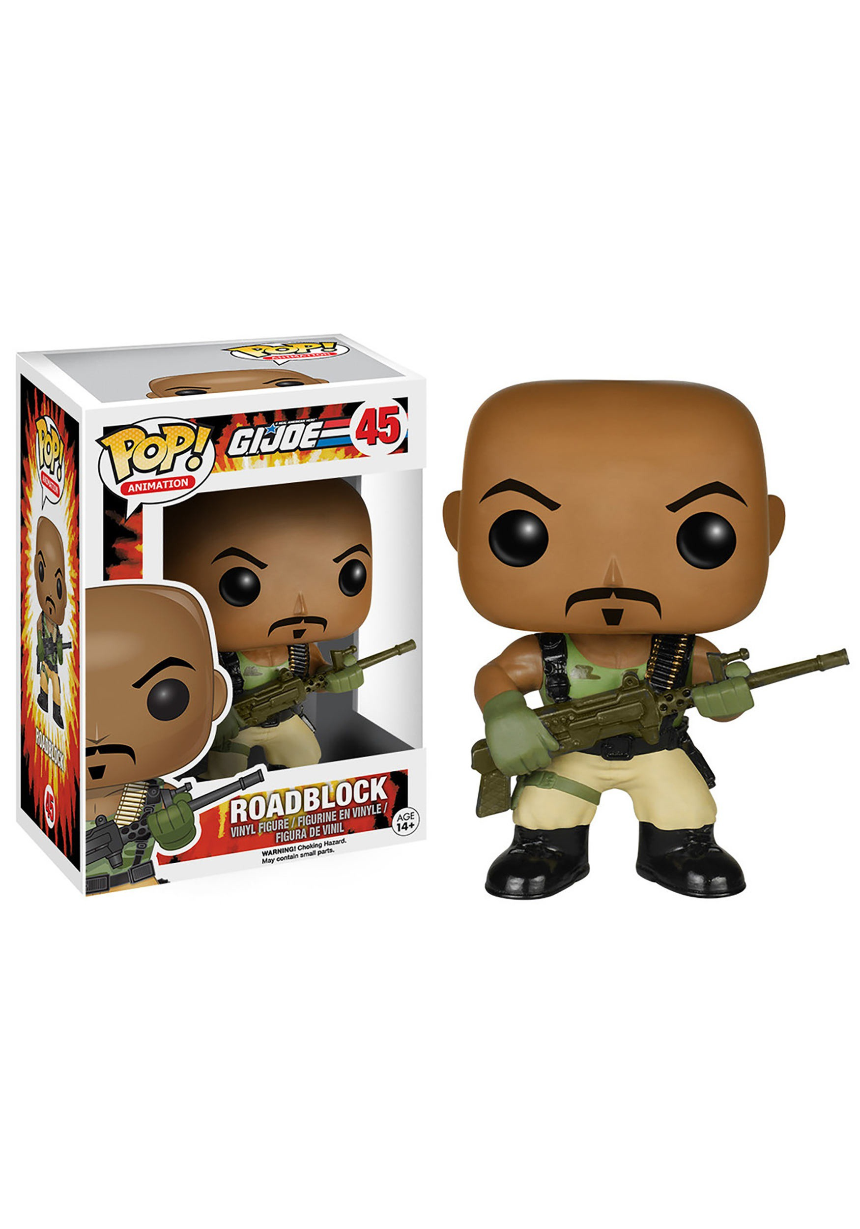 POP! G.I. Joe Roadblock Vinyl Figure FN6137