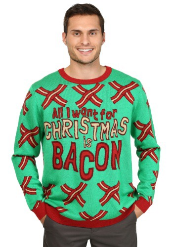 Bacon Ugly Christmas Sweater