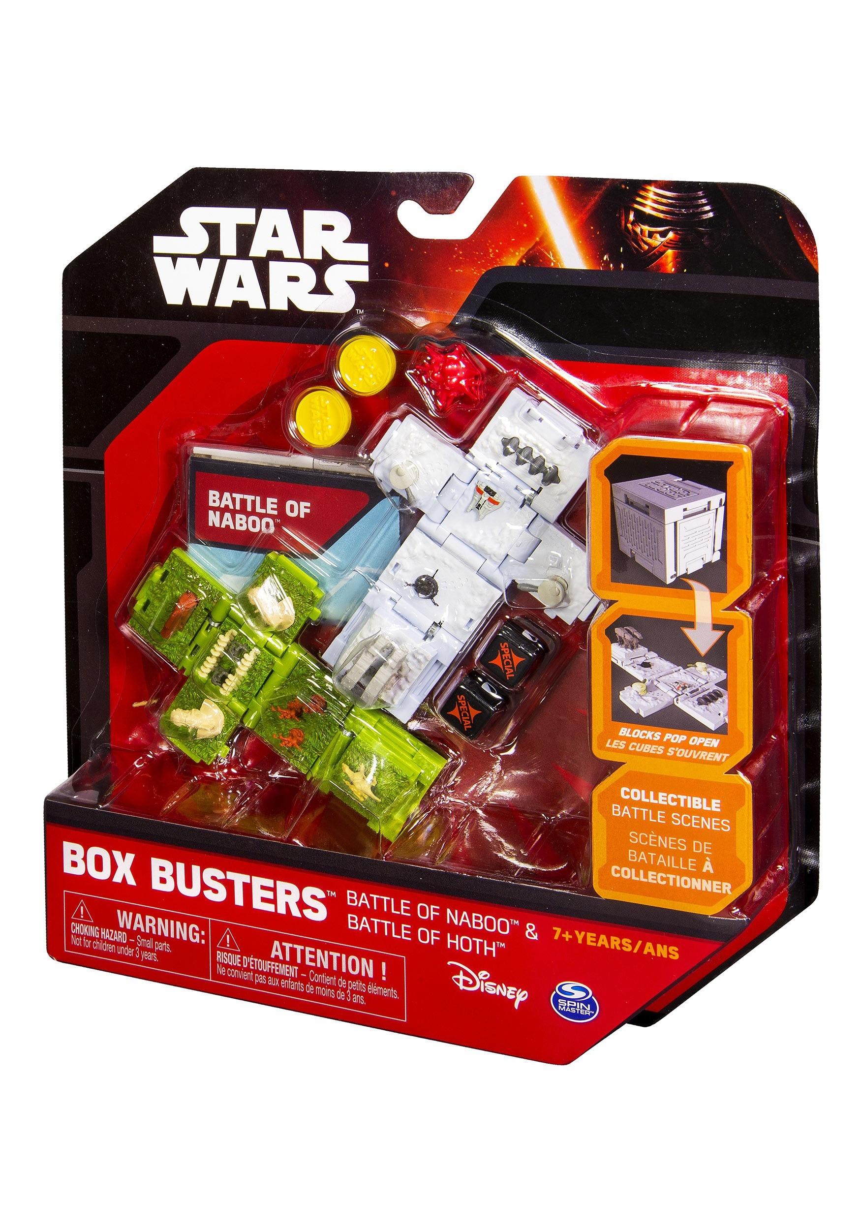 Star Wars Battle of Naboo & Battle of Hoth Box Buster Set SA20069301
