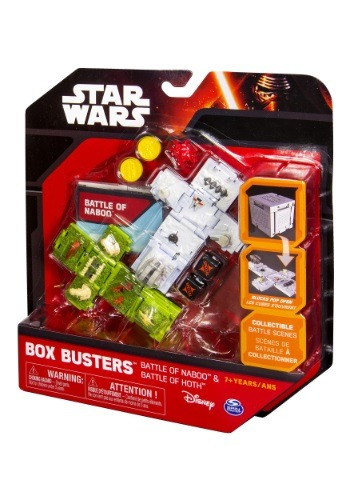 Star Wars Battle of Naboo & Battle of Hoth Box Buster Set SA20069301