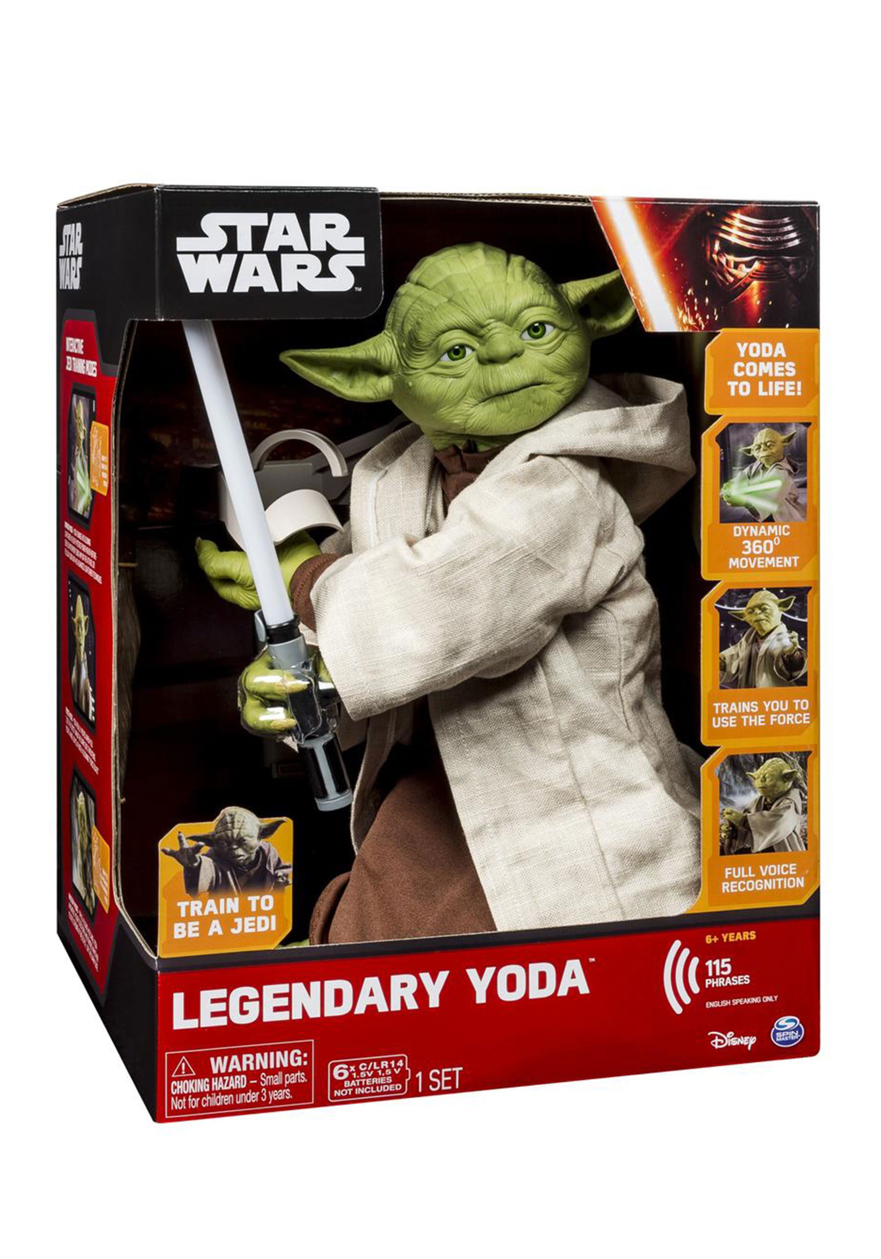 Star Wars Legendary Yoda Trainer SA6025110