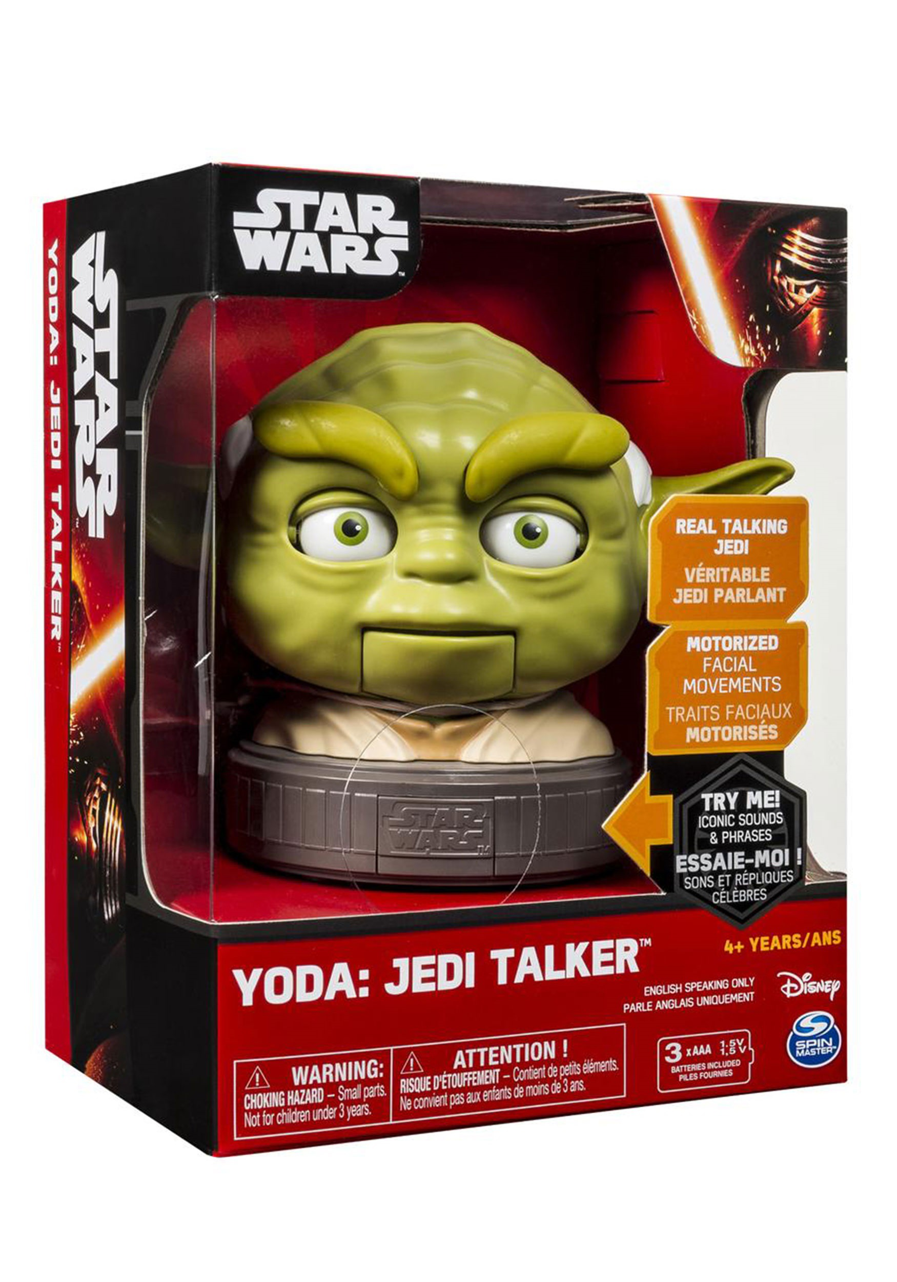 Star Wars Yoda Babble Head Jedi Talker SA6025107