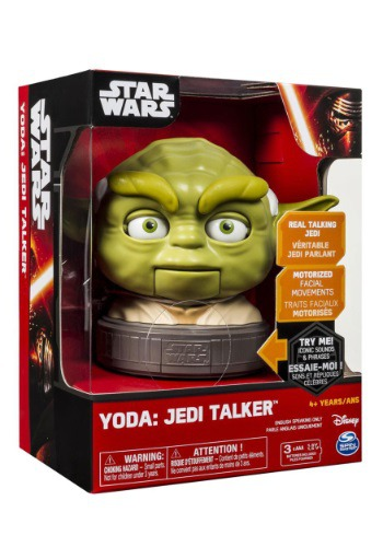 Star Wars Yoda Babble Head Jedi Talker