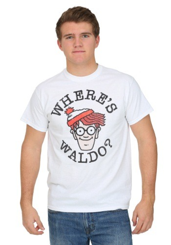 Where's Waldo Face Men's T-Shirt