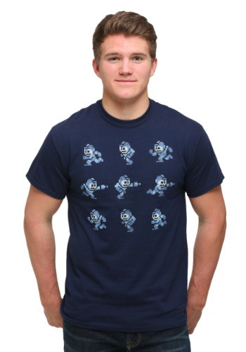 Mega Man Poses T-Shirt
