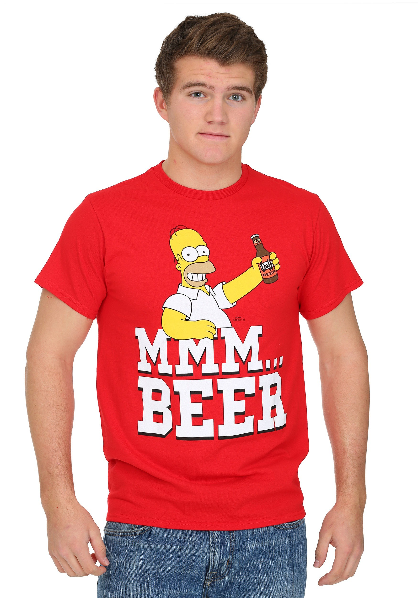 Simpsons Beer Me T-Shirt FZFMSN030
