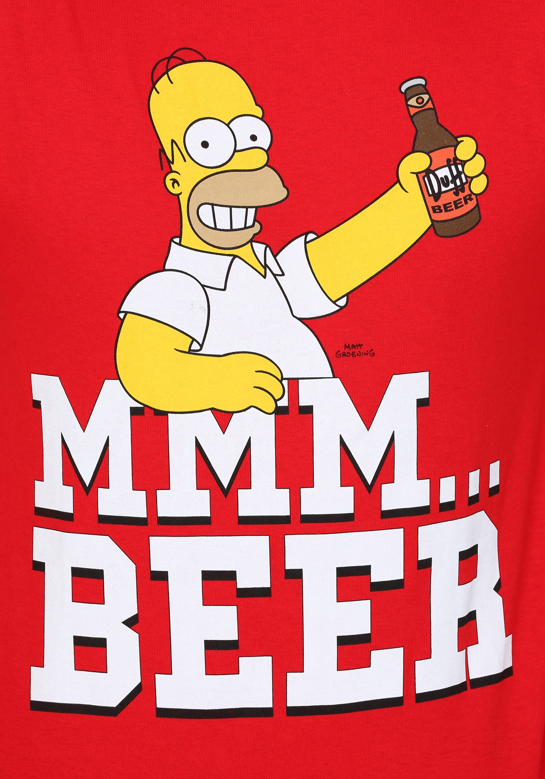 Simpsons Beer Me T-Shirt