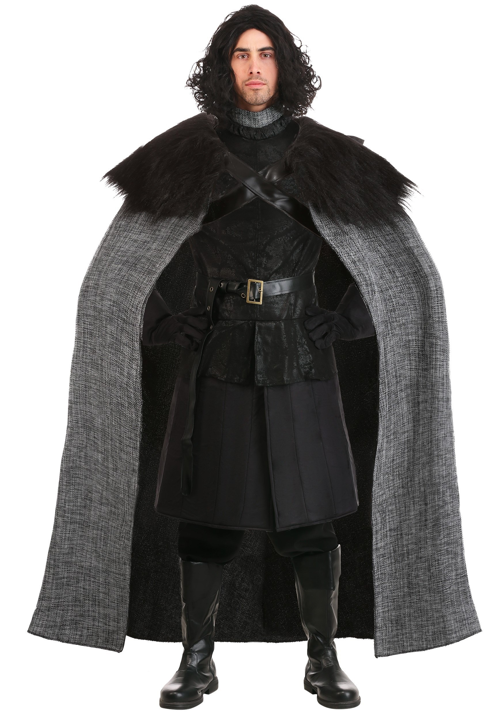 Dark Northern King Plus Size Costume for Men