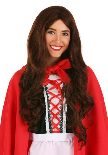 Adult Little Red Riding Hood Wig
