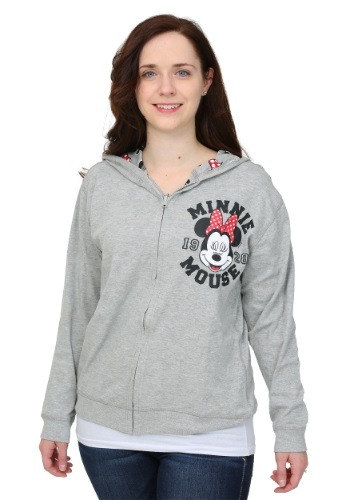 Minnie Mouse Reversible Juniors Hooded Sweatshirt