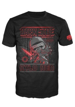 POP Tees Star Wars Dark Side Kylo Ren Men's T-Shirt