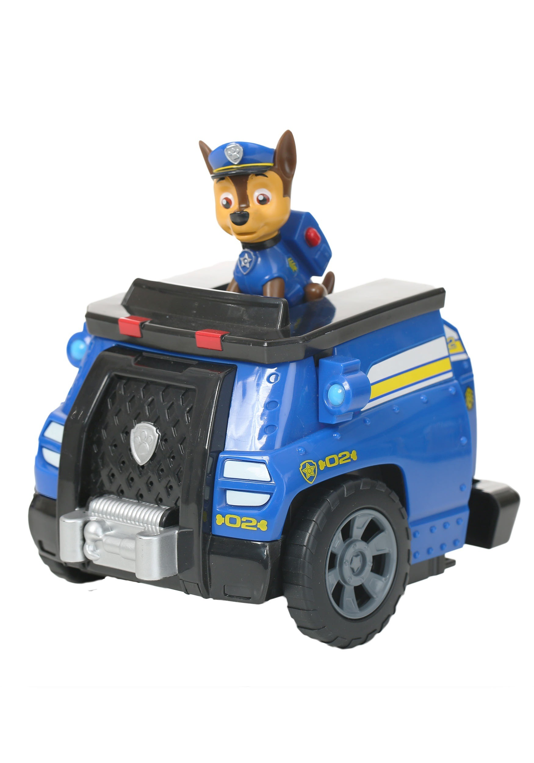 paw patrol chase transforming vehicle
