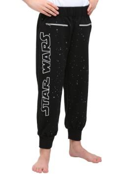Star Wars Glitter Stars Girls Sweat Pants