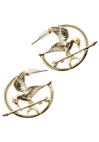 Hunger Games Mockingjay Earrings