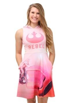 Star Wars Rebel Vehicle Hooded Tank Dress