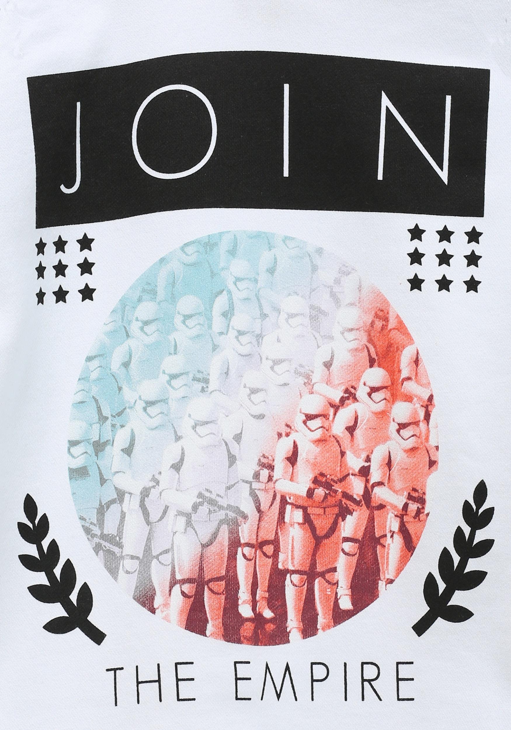 Star Wars Join The Empire Juniors Hooded Sweatshirt
