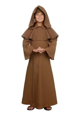 Brown Monk Chld Robe-1