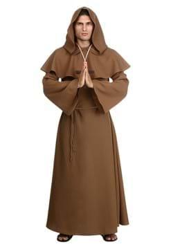 Mens Brown Monk Robe-1
