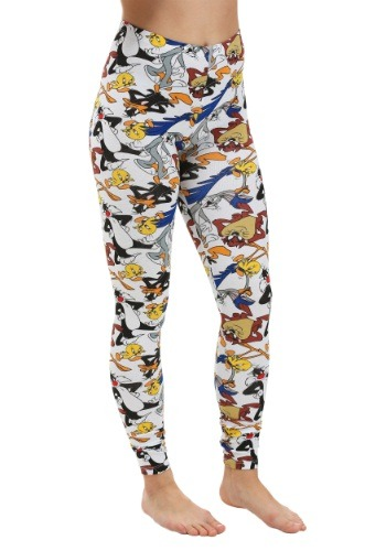Looney Tunes Group All Over Print Leggings