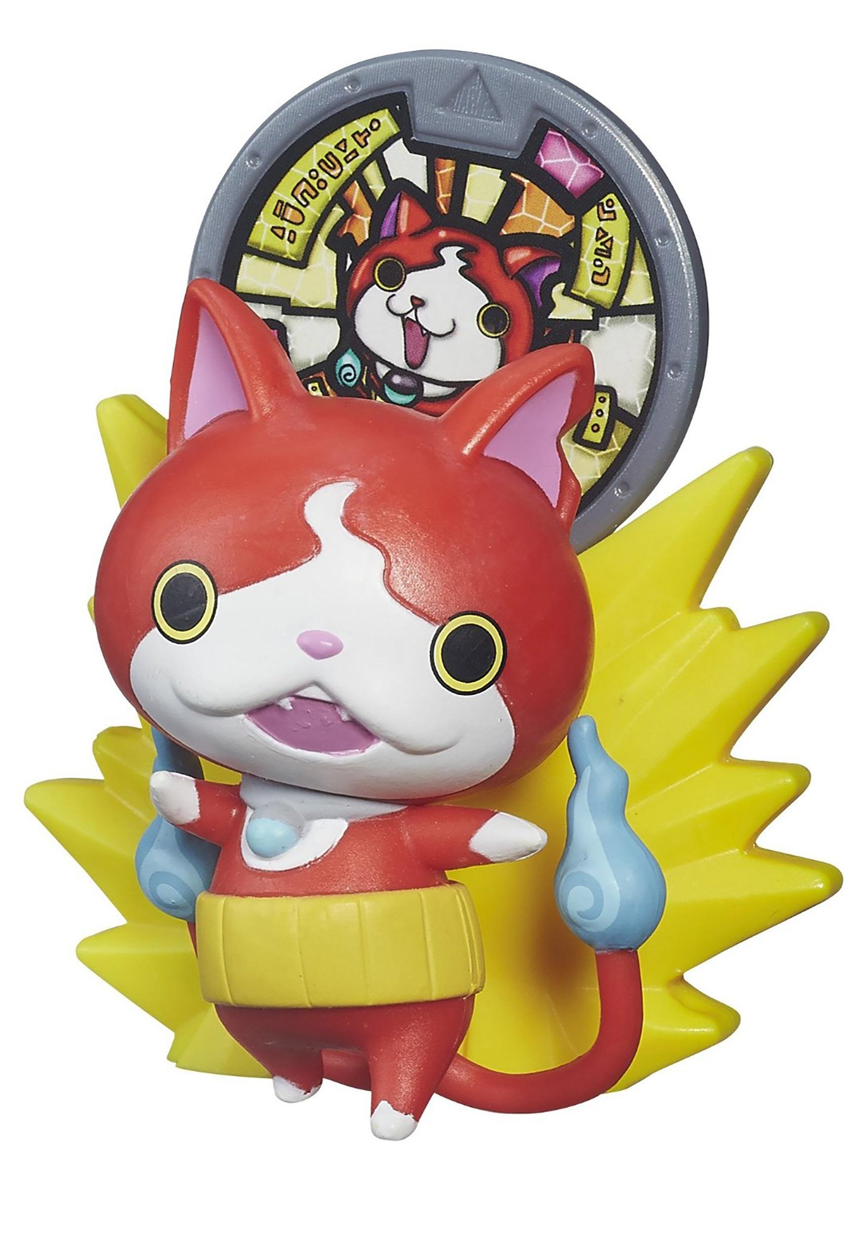 Yo kai watch medal moments jibanyan vinyl figure for Decoration yo kai watch