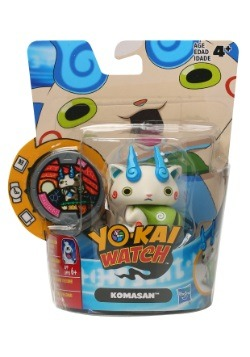 Yo-Kai Watch Medal Moments Komasan Vinyl Figure