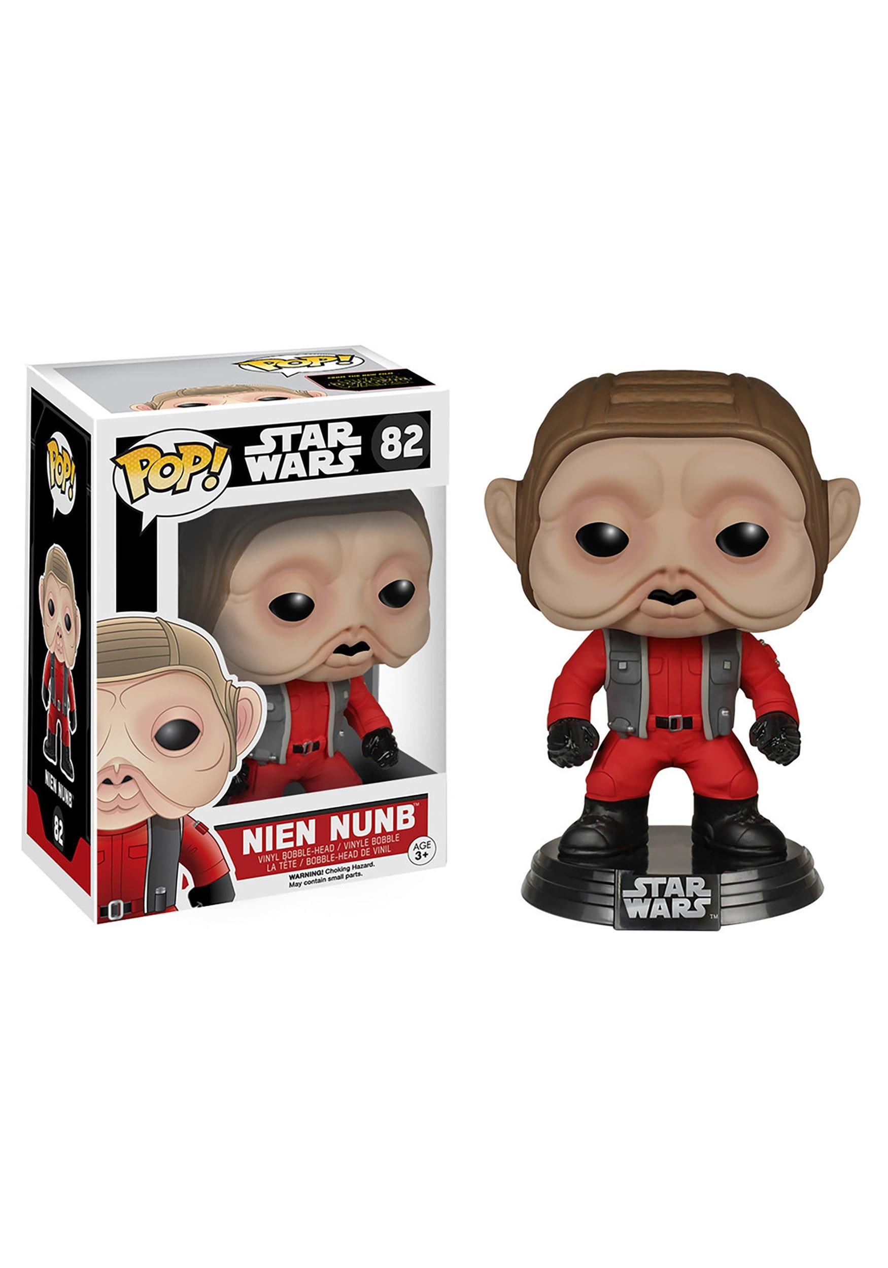 POP Star Wars Ep 7 Nien Nunb Bobblehead Figure FN6586