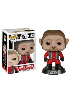 POP Star Wars Ep 7 Nien Nunb Bobblehead Figure