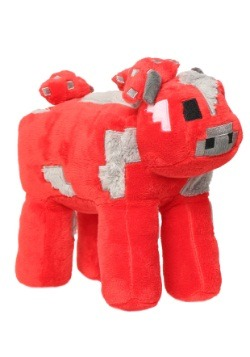 "Minecraft 9"" Mooshroom Stuffed Figure"