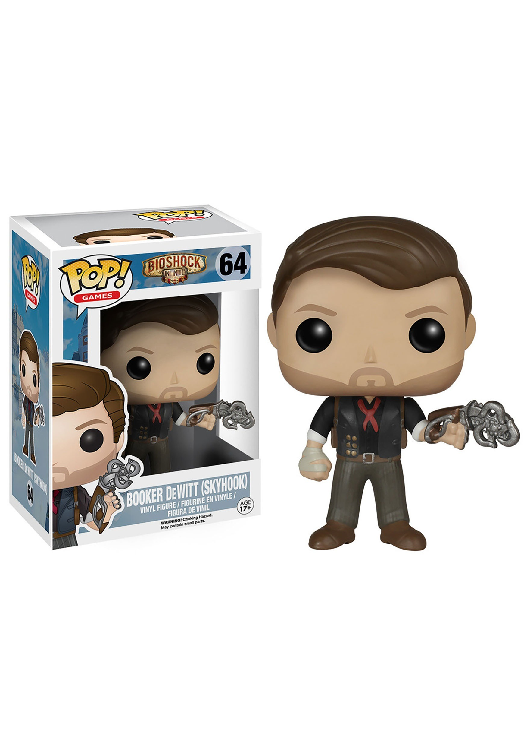 POP Bioshock Skyhook Booker Dewitt Vinyl Figure FN6167