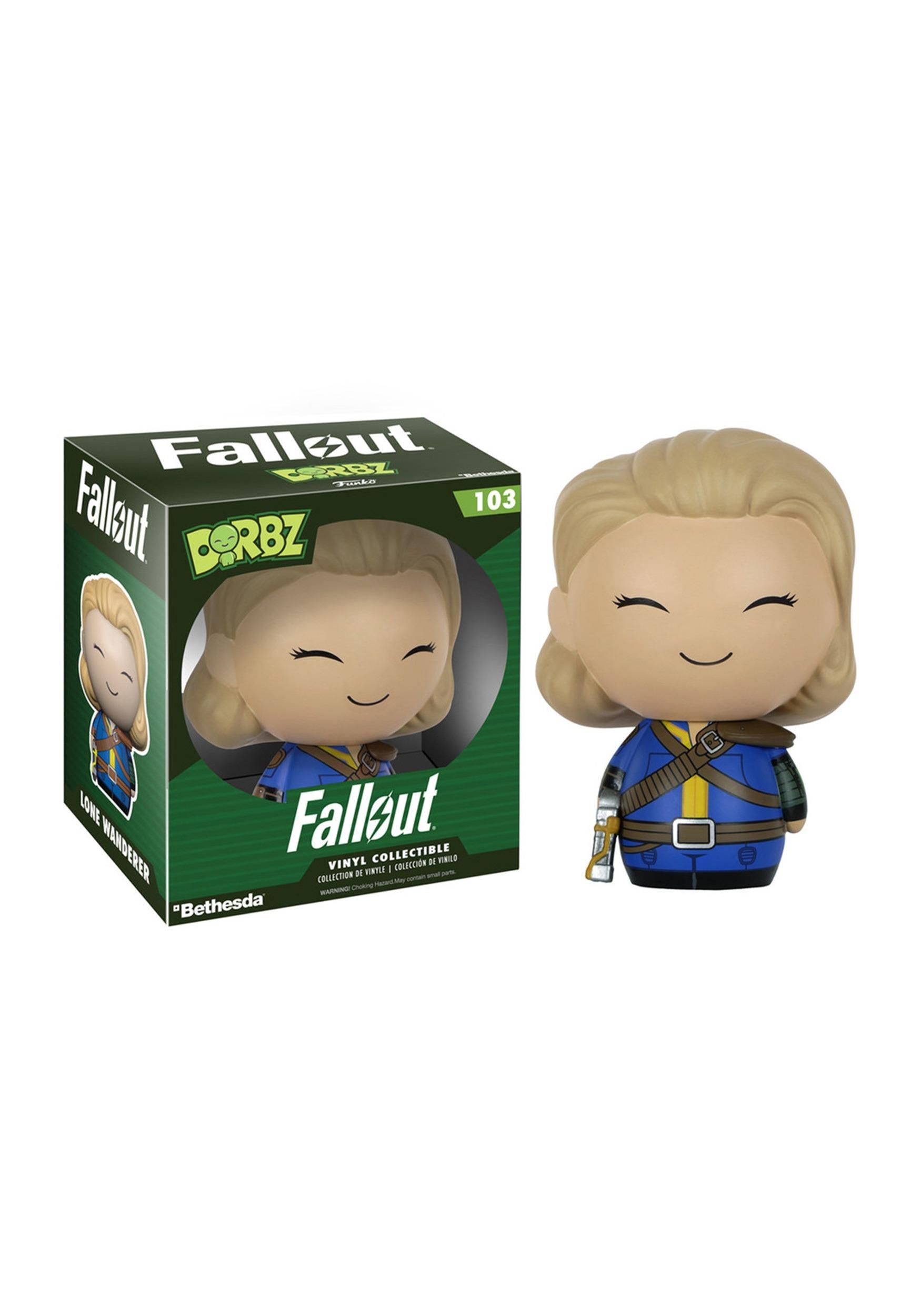 Dorbz Fallout Female Lone Wanderer Vinyl Figure FN7960