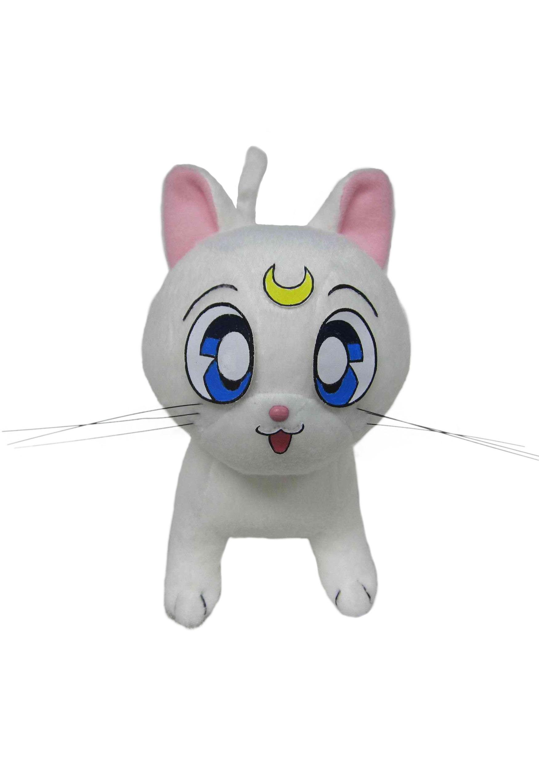 "Sailor Moon Artemis Stuffed 6.5"" Toy"