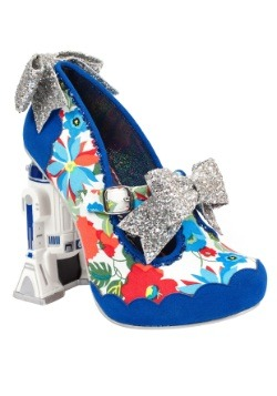 Star Wars Floral R2D2 Womens Heel