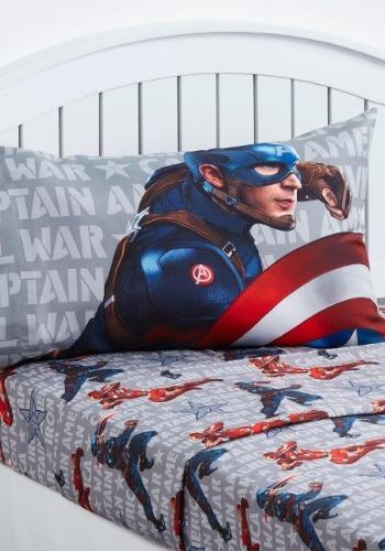 Captain America Civil War Twin Sheet Set