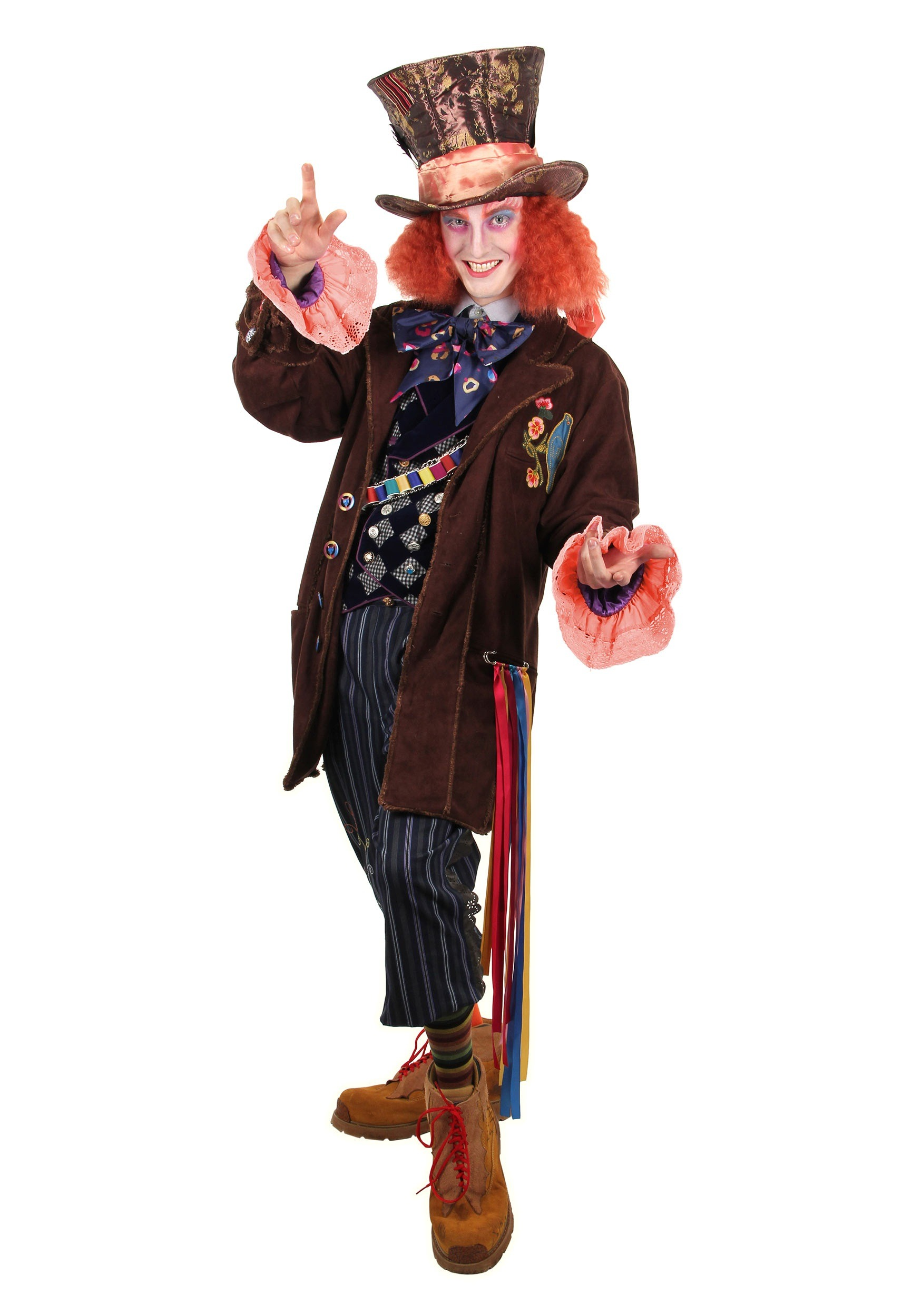 Alice In Wonderland Authentic Mad Hatter Adult Costume