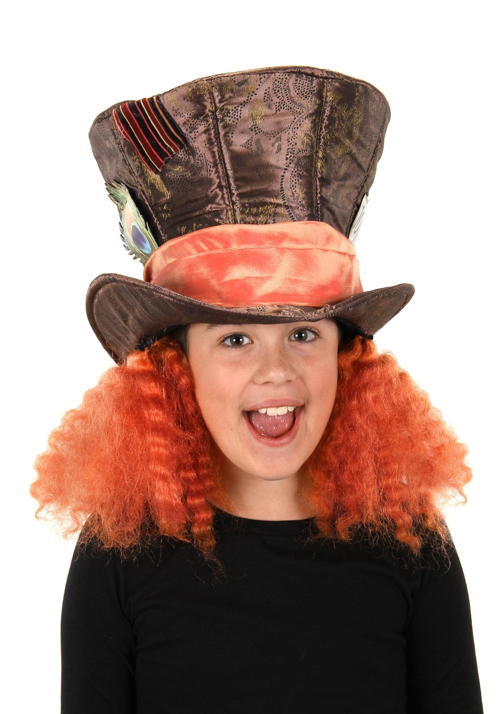 Alice In Wonderland Mad Hatter Hat For Kids