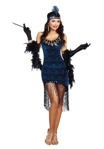 Downtown Doll Women's Costume