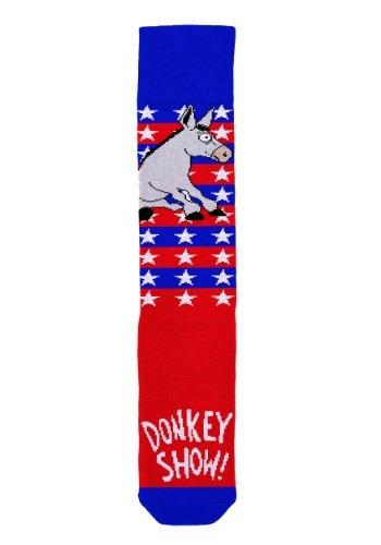 Donkey Show Democratic Socks