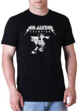 Air Guitar Champion T-Shirt