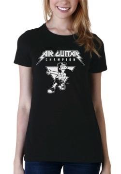 Women's Air Guitar Champion T-Shirt
